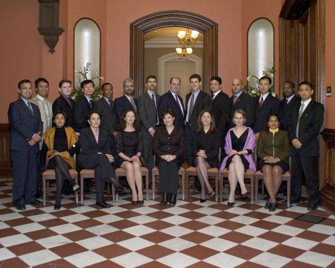 Photo of 2004 World Fellows