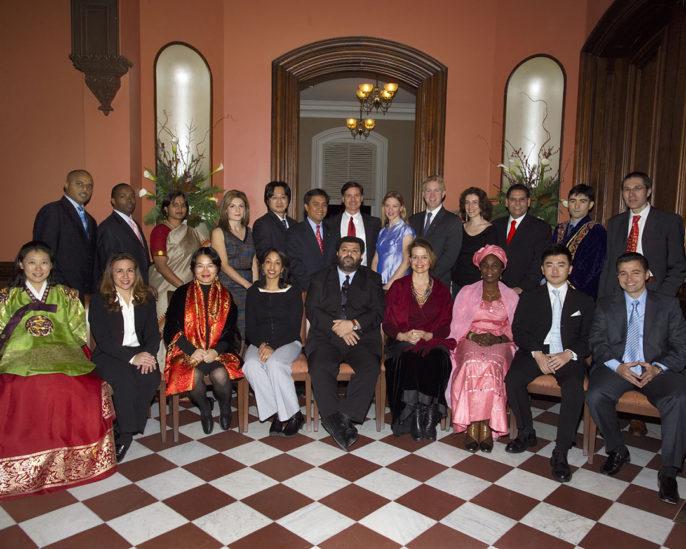 Photo of 2005 World Fellows