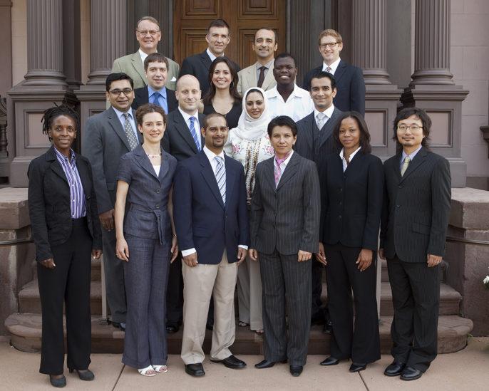 Photo of 2009 World Fellows
