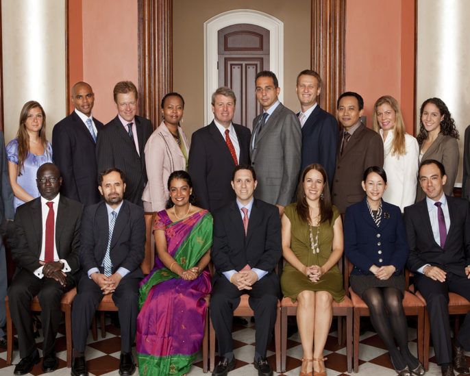 Photo of 2010 World Fellows
