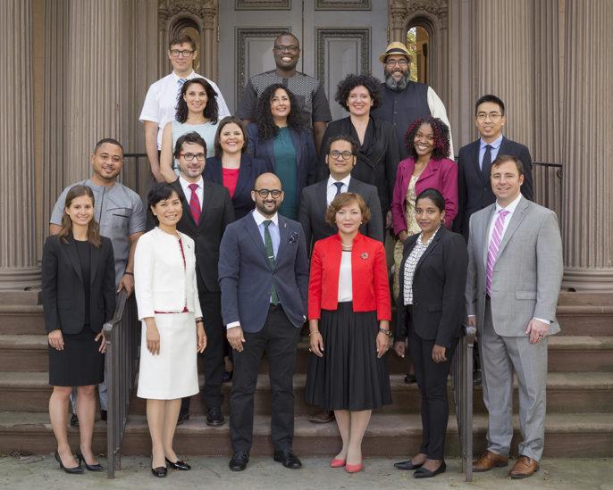 Photo of 2017 World Fellows
