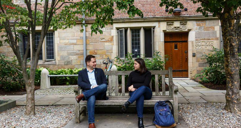 World Fellows mentor students (both undergraduate