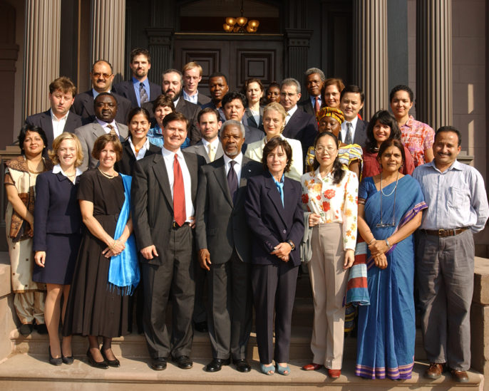 Photo of 2002 World Fellows