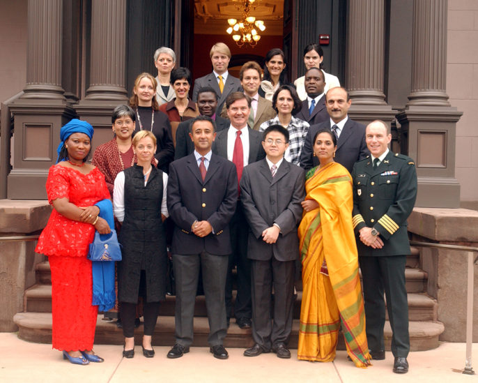 Photo of 2003 World Fellows