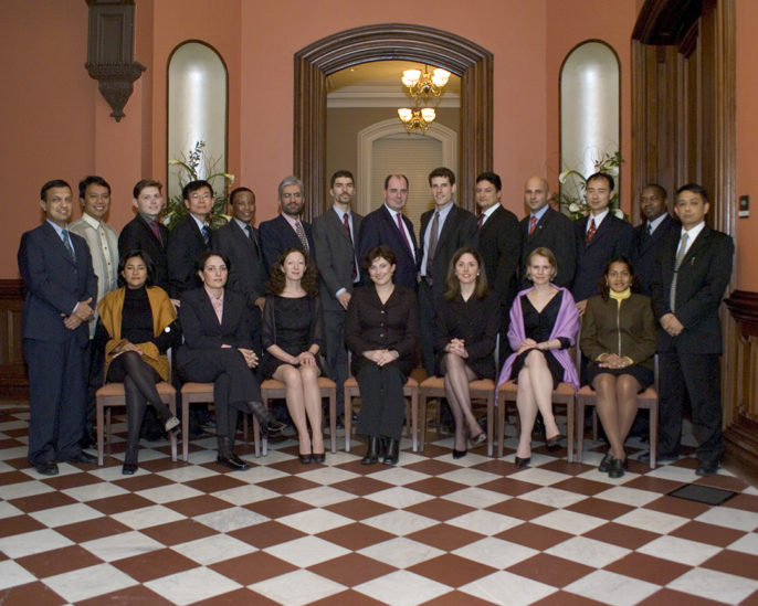 Photo of 2004 World Fellows