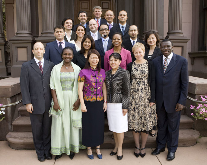 Photo of 2007 World Fellows