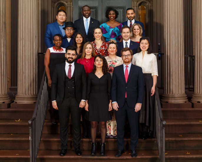 Photo of 2019 World Fellows