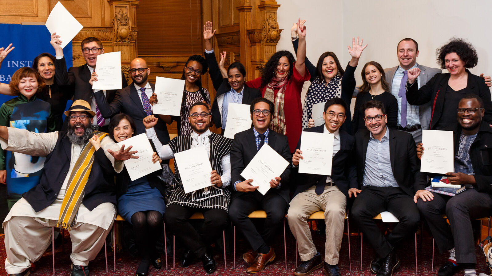 2017 Fellows wrap up time at Yale photo