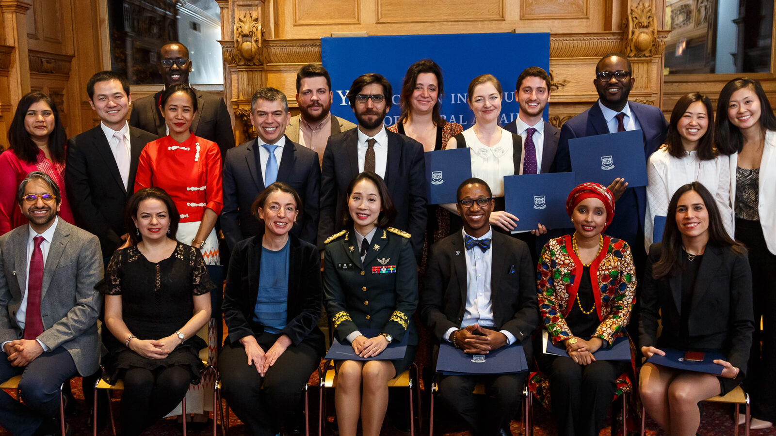 2018 Fellows conclude time at Yale photo