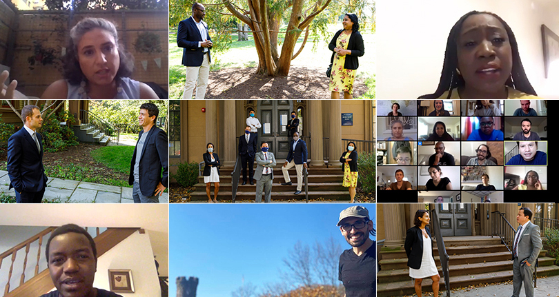 2020 World Fellows wrap up time at Yale photo